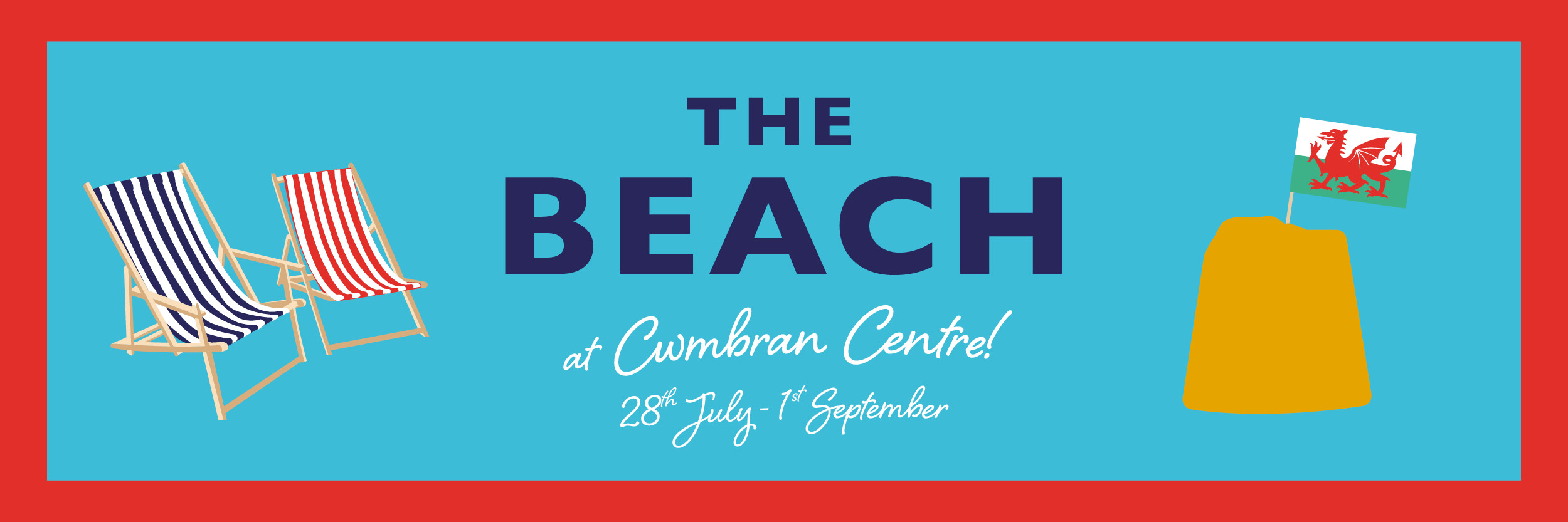 The Beach at Cwmbran Centre