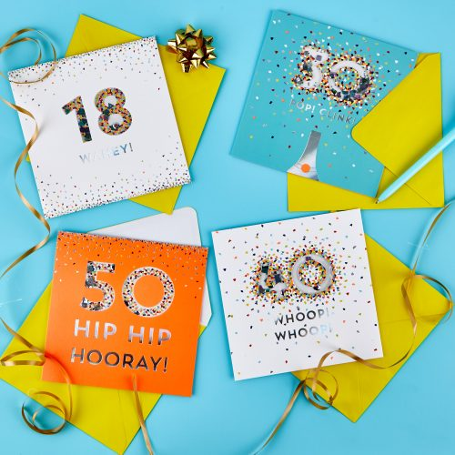 NEW special age cards, gifts and wrap