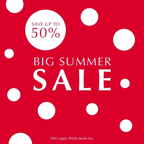 Save up to 50% in the Pandora summer sale