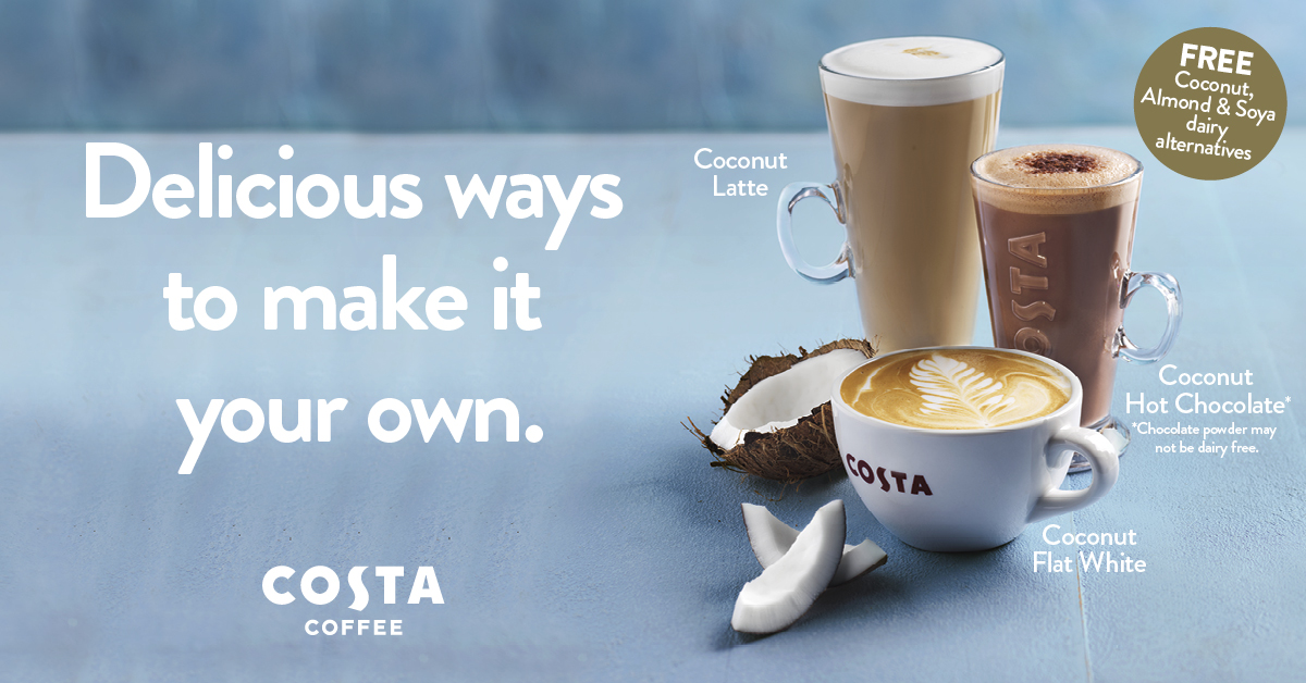 Switch up your usual at Costa