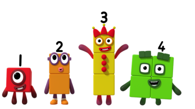 CBeebies numberblocks