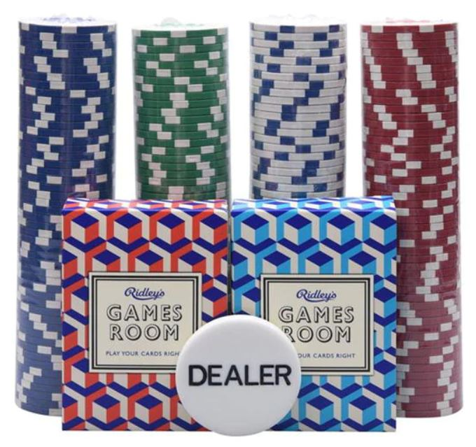 House of Fraser poker set